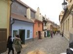 Calle Dorada del Castillo de Praga