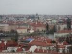 Vista de la Ciudad de Praga desde el Castillo