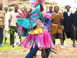 Baile ritual africano dogon