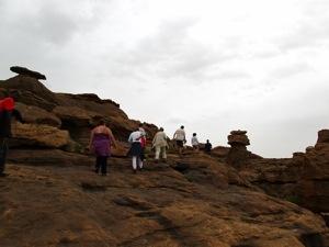 Trekking por la falla de Bandiagara de camino a Benimato, un pueblo Dogon