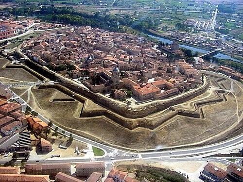 Semana Santa en Ciudad Rodrigo - vista aérea de Ciudad Rodrigo