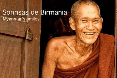 Lorenzo Diaz, tapa del album Sonrisas de Birmania