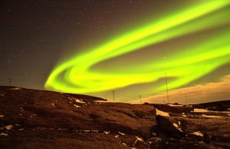 Finlandia. Auroras Boreales en Saariselka
