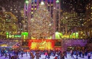 Luces de Navidad en Nueva York. Viaje singles