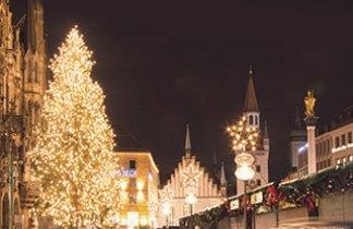Baviera y Tirol. Mercaditos de Navidad. Pte. Diciembre
