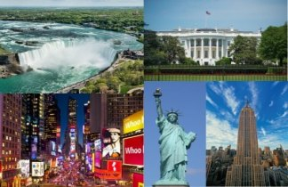 Fantástico viaje porNiágara, Nueva York y Washington. Viaje Singles
